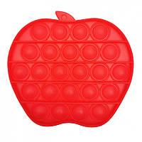"""Игрушка-антистресс """"POP-IT"""" PPT-A(Red) Яблоко Красный"""