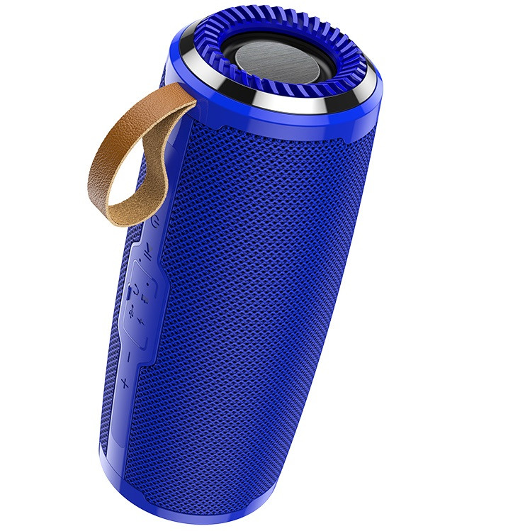 Портативна Bluetooth колонка HOCO BS38, синя