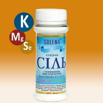 Сіль +калій+магній+селен 145 гр