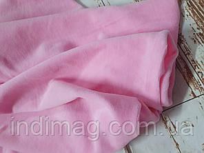 Велюр    розовый хлопок пенье