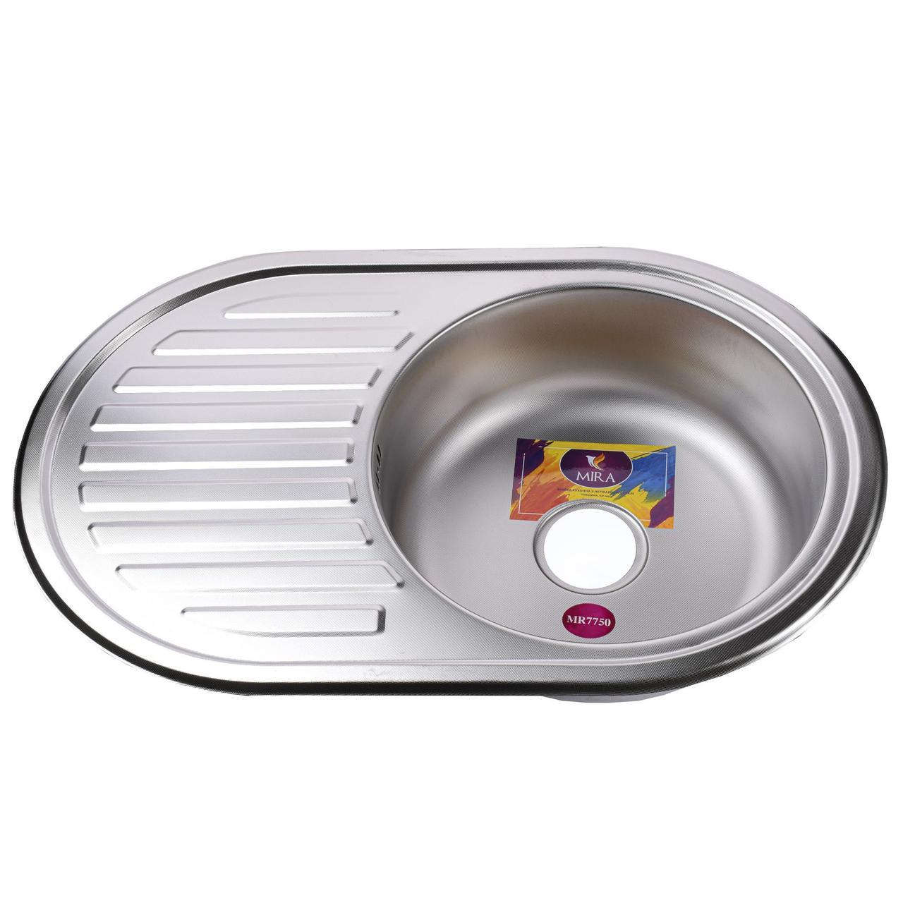 Мойка кухонная Mira MR 7750 D Decor