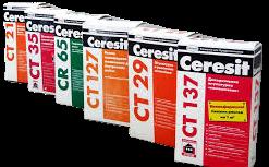 Сухие строительные смеси Ceresit