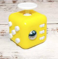 Кубик-антистрес Fidget Cube (жовтий)