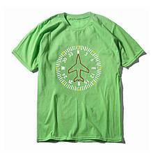 "Футболка авиационная ""Компас"" Цвет: green herbal"