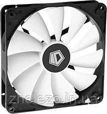Вентилятор ID-Cooling WF-14025-XT, 140x140x25мм, 4-pin PWM, черный с белый, фото 3