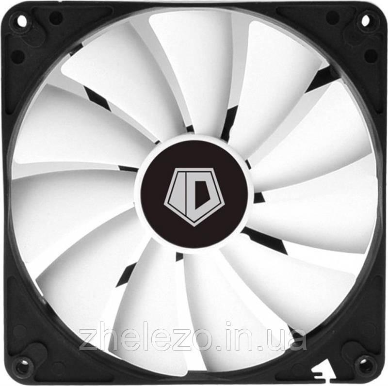 Вентилятор ID-Cooling WF-14025-XT, 140x140x25мм, 4-pin PWM, черный с белый