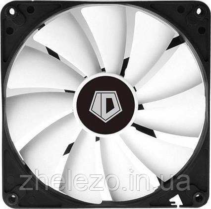 Вентилятор ID-Cooling WF-14025-XT, 140x140x25мм, 4-pin PWM, черный с белый, фото 2