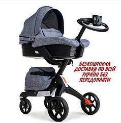 Детская универсальная коляска 2 в 1 Dsland Xplory V8
