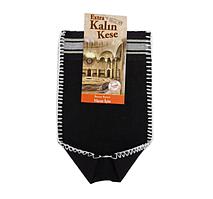 Кесе для тіла жорстка чорна KALIN (целюлоза 100%) 26х16см для хамама - турецької лазні