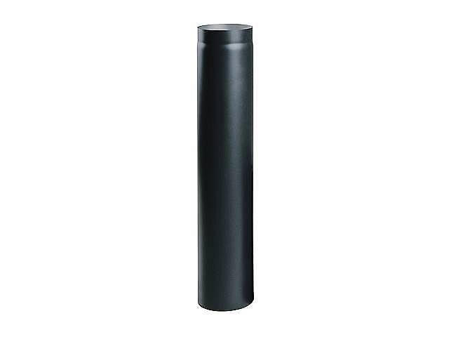 Димохідна Труба 1000 мм Ø180 мм з чорної сталі 250, 180