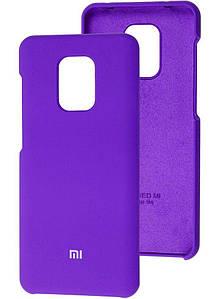 Чохол Оригінал Silicone Case Xiaomi Redmi Note 9s/9 Pro (Фіолетовий)