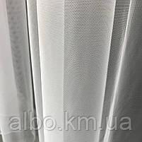 Тюль для вікна на кухню балкон, тюль в вітальню спальню квартиру, тюль в спальню кімнату дитячу з турецького фатину ALBO 500x270, фото 2