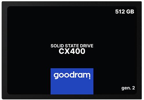"""SSD Goodram CX400 Gen.2 512GB 2.5"""" SATAIII 3D TLC (SSDPR-CX400-512-G2)"""