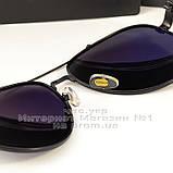 Мужские солнцезащитные очки Porsche Design авиатор качество классика полностью металл реплика, фото 3