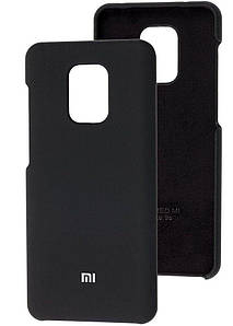 Чохол Оригінал Silicone Case Xiaomi Redmi Note 9s/9 Pro (чорний)