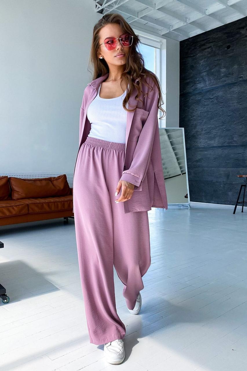 Сорочка жіноча, колір: рожевий, розмір: S-M, L-XL