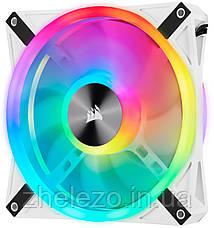 Вентилятор Corsair iCUE QL140 RGB (CO-9050105-WW), 140x140x25мм, 4-pin PWM, белый, фото 3