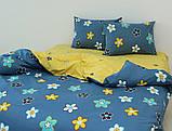 Двуспальный комплект постельного белья с компаньоном R4150, фото 2
