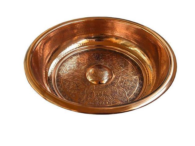Таз для турецької лазні Premium (Мідний), фото 2