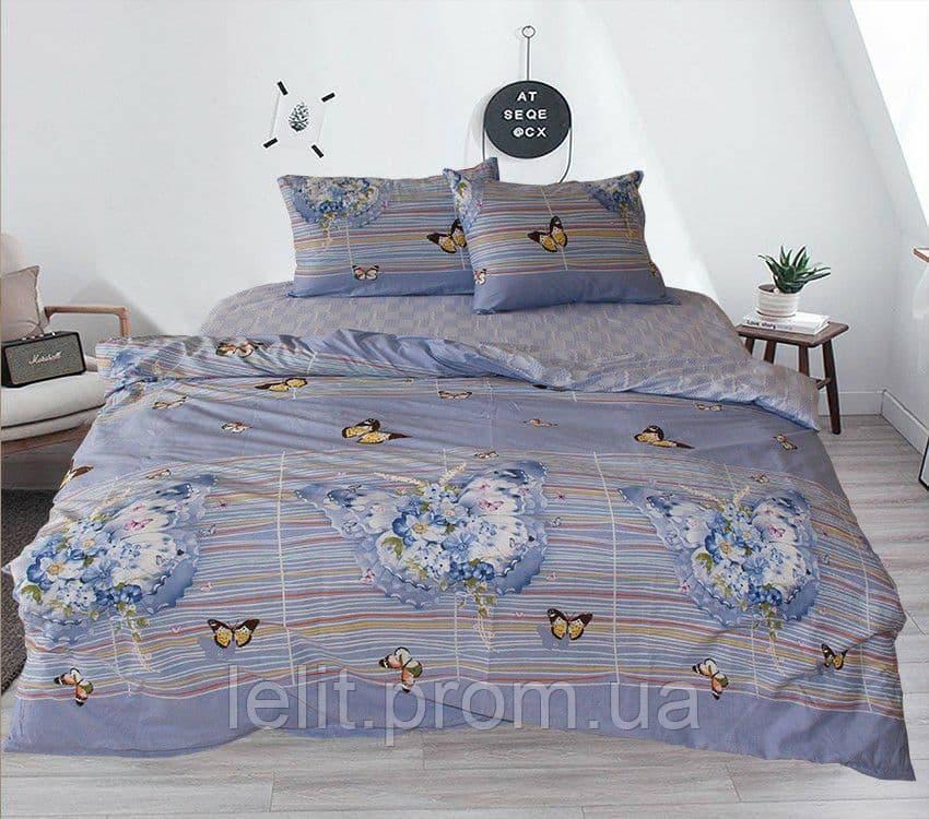 Двуспальный комплект постельного белья с компаньоном S334