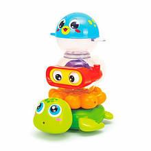 Набір іграшок для ванної Hola Toys Веселе купання (3112)