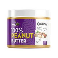 Натуральное арахисовое масло 500 г  OstroVit 100% Peanut Butter 500 g crunchy