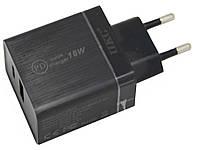 Зарядний пристрій для телефону UKC-6924 18W, блок зарядки телефону quick charge 3.0   чорна, фото 1
