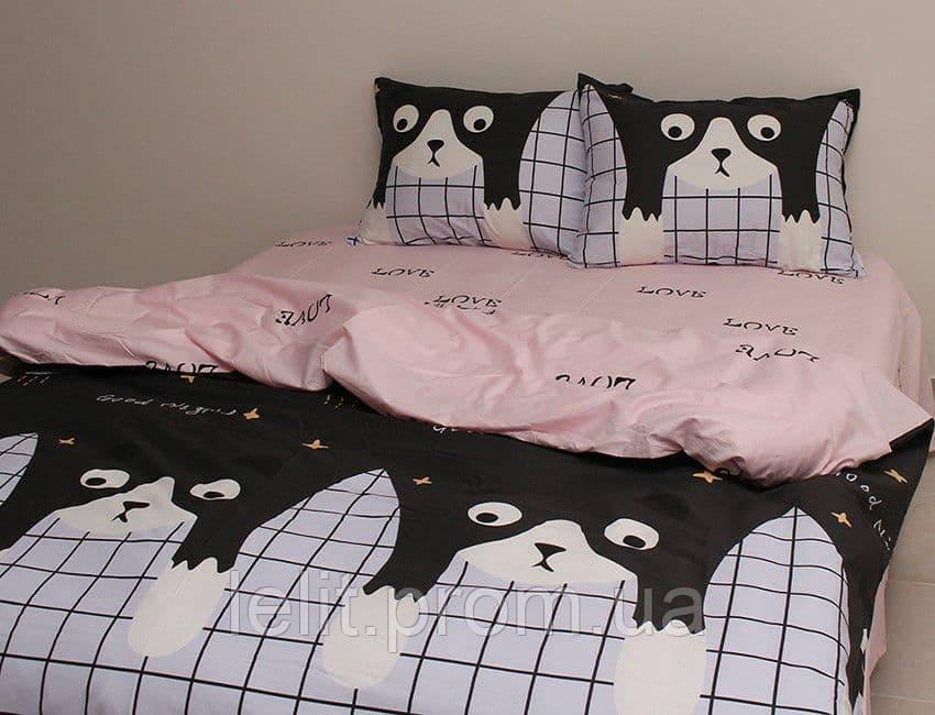 Детский полуторный комплект постельного белья с компаньоном S397