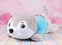 М'яка іграшка вовк, іграшка подушка, 60 див., фото 1