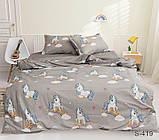 Детский полуторный комплект постельного белья с компаньоном S419, фото 2