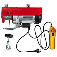 Тельфер электрический 880 Вт, 200-400кг, 6/12м, ULTRA (6125022)