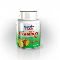 Витамин С жевательные таблетки с ананасовым вкусом 500 мг N50