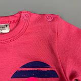 Комплект боди, штаны девочка розовый Интерлок Marry Bee Украина 62(р), фото 2