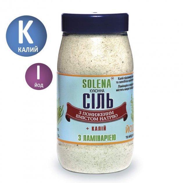 Сіль Морська +30% калію з ламинарией 700 гр