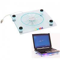 Прозора підставка для ноутбука Laptop Cooler 828
