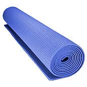 Килимок для йоги та фітнесу Power System PS-4014 Fitness-Yoga Mat Blue