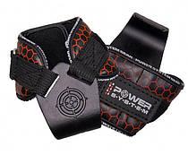 Крюки для тяги на запястье Power System Hooks V2 PS-3360 Black / Red L