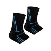 Спортивні бандажі на голеностоп Power System Ankle Support Evo PS-6022 Black / Blue L