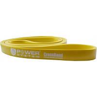 Резина для тренировок CrossFit Level 1 Yellow PS-4051 (сопротивление 4-25кг), фото 1