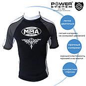Рашгард для MMA Power System 003 Scorpio XL Black / White