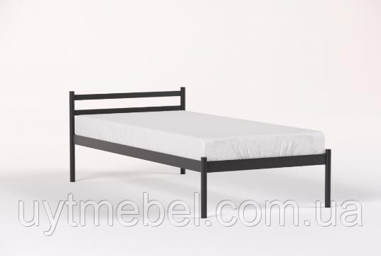 Ліжко COMFORT-1 900х1900 чорний мат. (МЕТАКАМ)