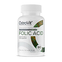 Фолиевая кислота  400 мкг OstroVit Folic Acid 90 tabs
