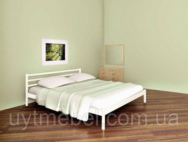 Ліжко COMFORT-1 1200х1900 білий (МЕТАКАМ)