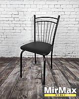 """Стул """"София"""" в черном цвете, для кухни, кафе, баров, столовой, кухонный"""