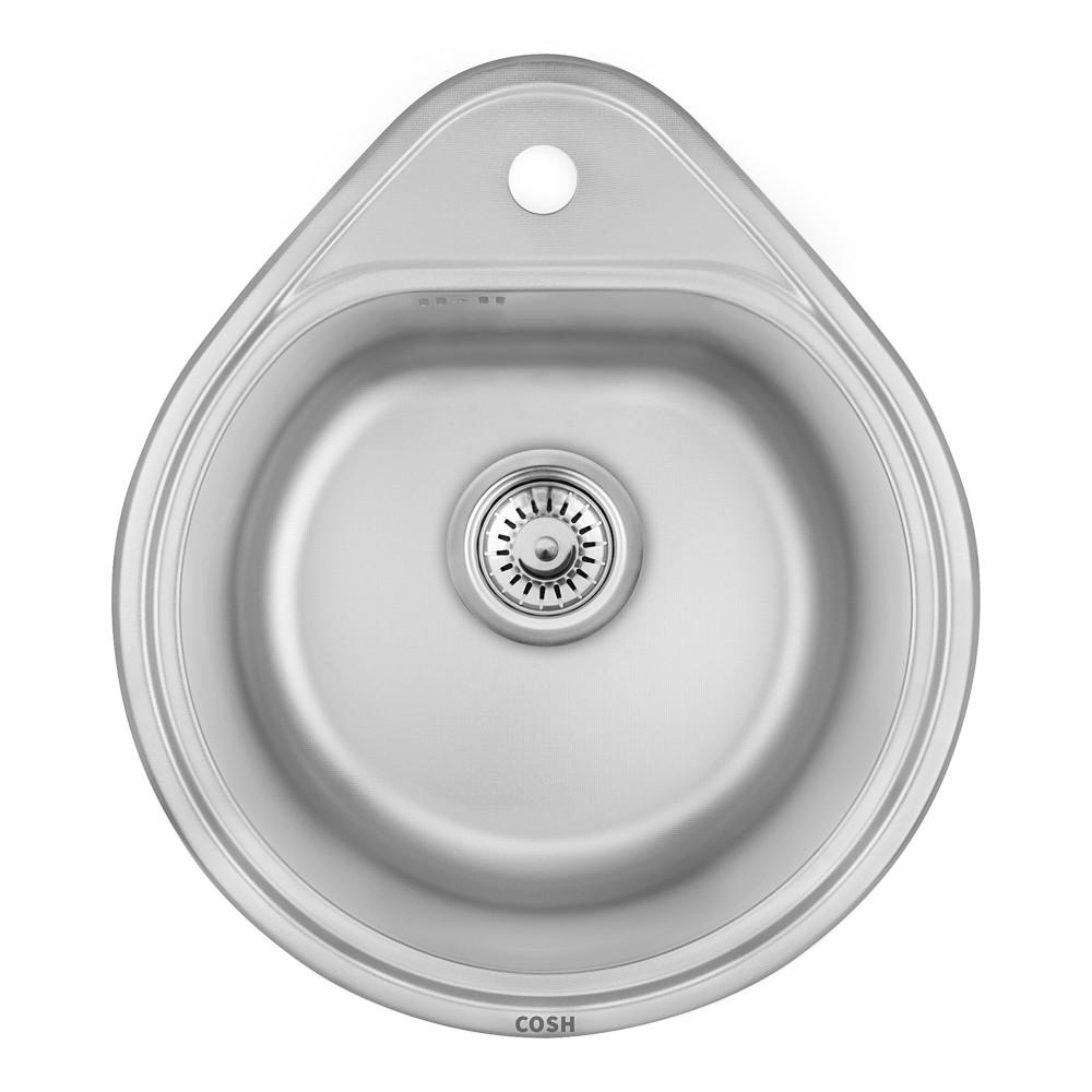 Кухонна мийка Cosh 4450 Satin (COSH4450S08)