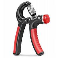 Эспандер кистевой-пружинный ножницы Power System PS-4021 Power Hand Grip Black, фото 1
