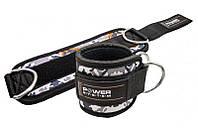 Манжети на щиколотку Power System Ankle Strap Camo PS-3470 Grey / Black