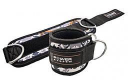 Манжеты на лодыжку Power System Ankle Strap Camo PS-3470 Grey / Black