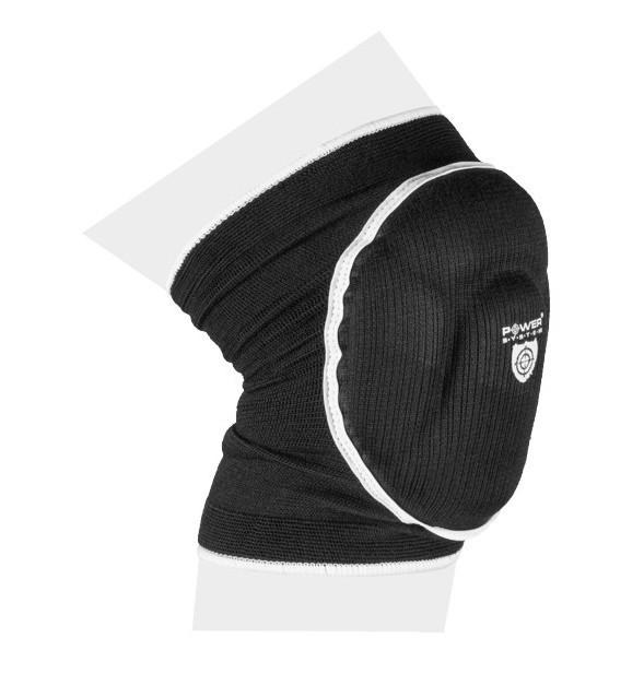 Наколенники спортивные Power System Elastic Knee Pad PS-6005 Black L