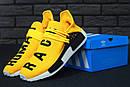 Чоловічі кросівки Adidas Human Race Yellow, фото 2